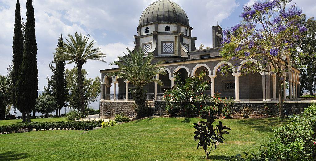 Galilée, le mont des Béatitudes