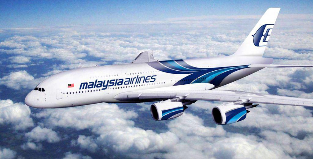 Voyagez en classe Affaires avec Malaysia Airlines...
