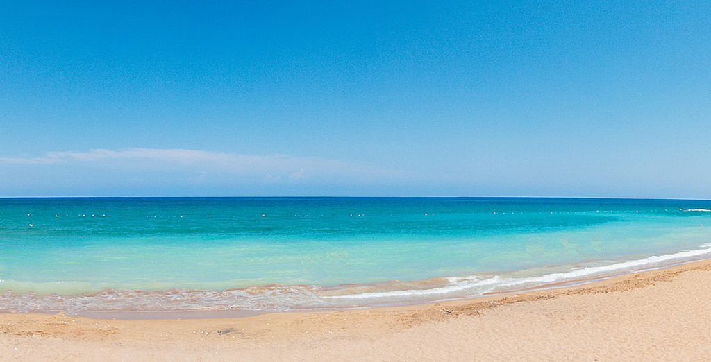 Puis attardez-vous sur les plages de l'île