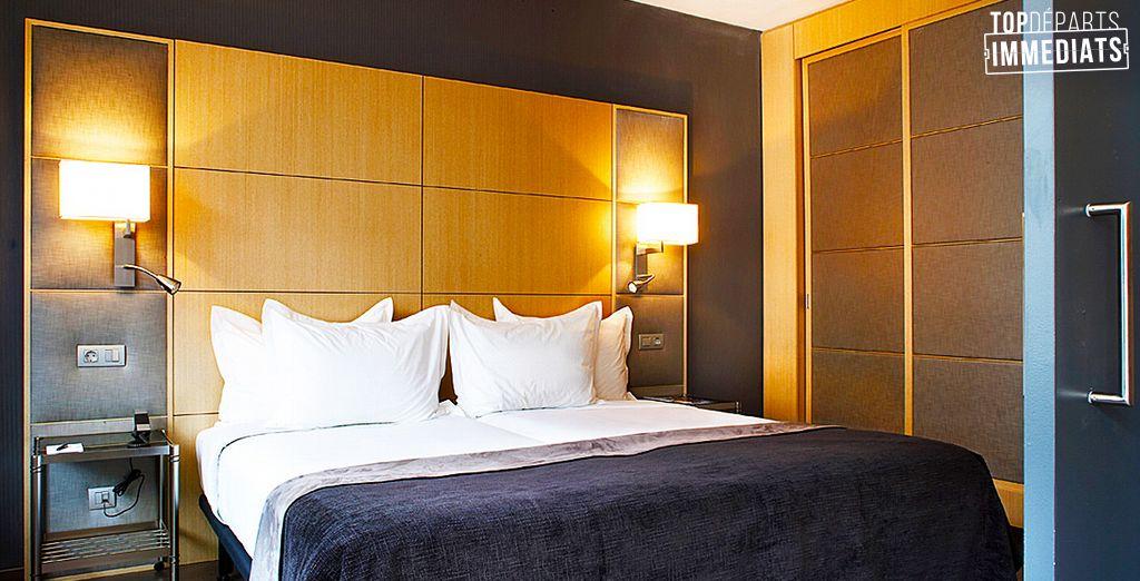 Et si vous partiez pour une virée en Junior Suite ? - AC Hotel Victoria Suites by Marriott 4* Barcelone