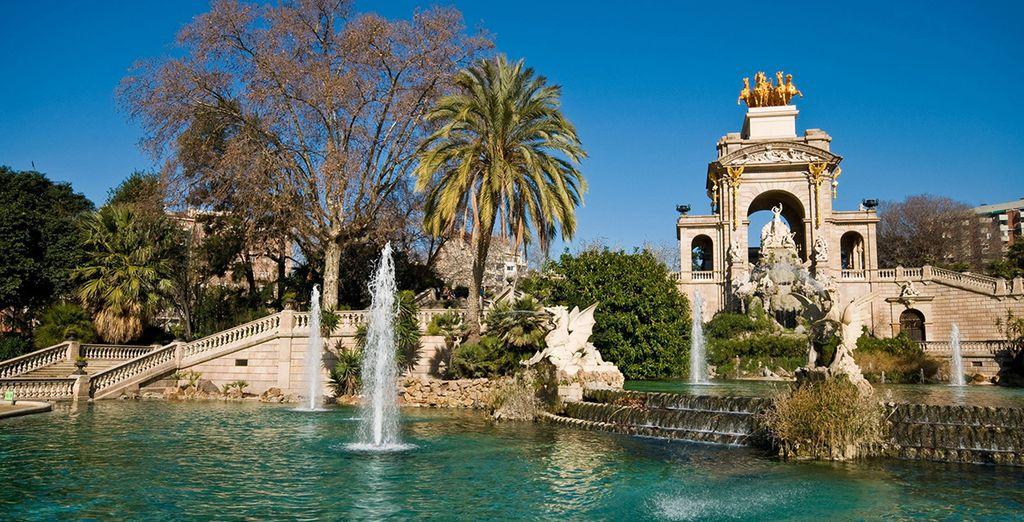 ... Et à proximité du parc de la Ciutadella