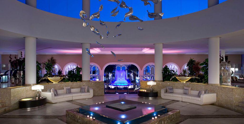 Un établissement luxueux