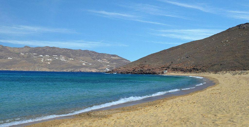 Et ses plages de sable fin...