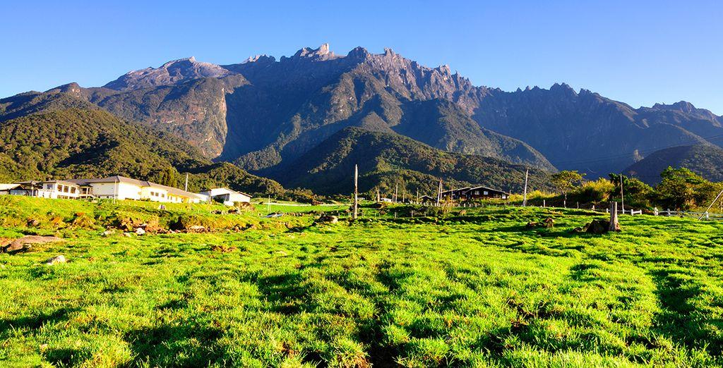 Du majestueux Mont Kinabalu...
