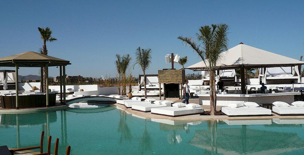 Vous bénéficierez d'un jour au Nikki Beach à Marrakech