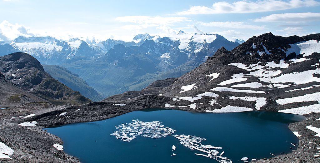 Et le magnifique parc de la Vanoise... Chaussez vos skis, c'est parti !