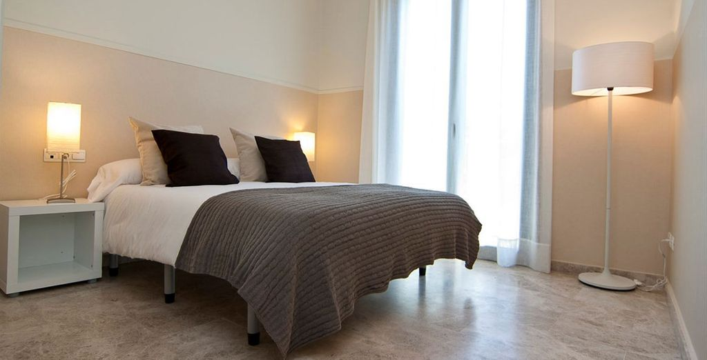 Appartement 6 : Une première chambre