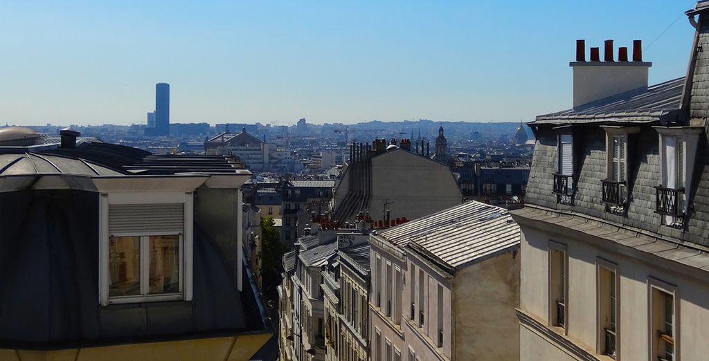 Situé au dernier étage de la résidence, il vous offrira une vue unique sur les toits