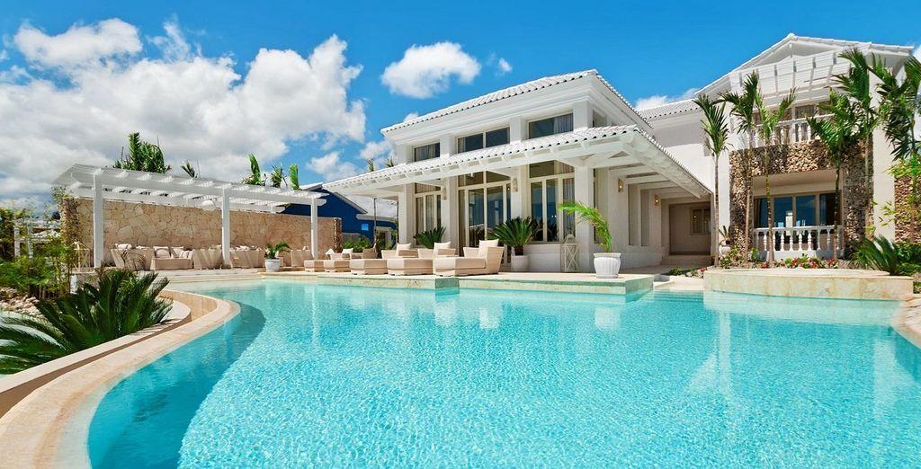 Avec près de 600 m², la Villa Impériale peut accueillir jusqu'à 10 personnes !