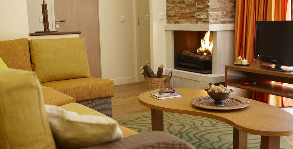 Vous apprécierez le confort de votre hébergement...