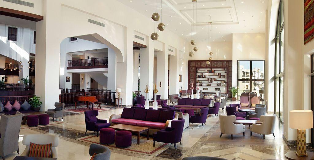 Un tout nouvel établissement, luxueux et chaleureux