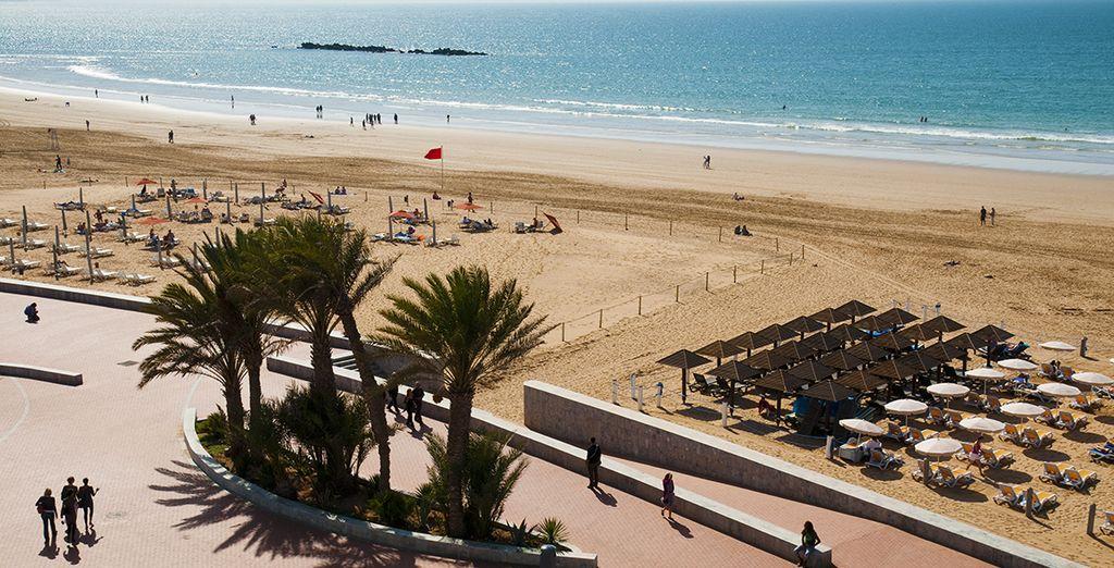 En plein cœur de la Baie d'Agadir !