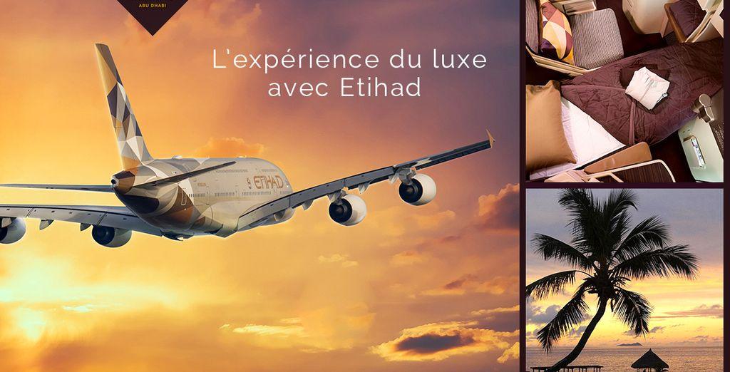Réservez vite votre départ avec Etihad Airways !