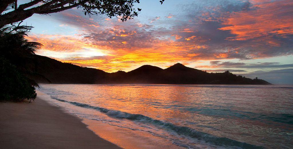 D'assister à un magnifique coucher de soleil