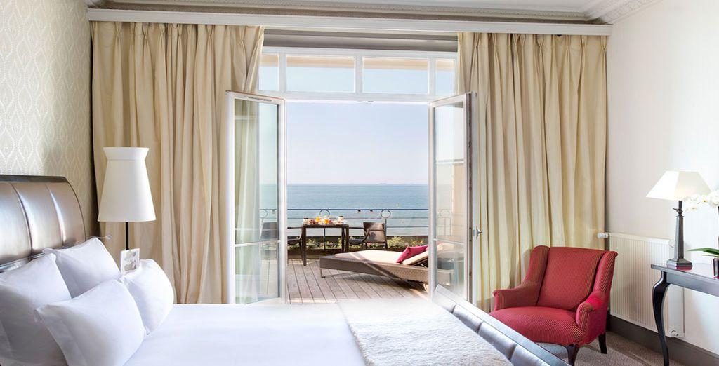 Ou offrez-vous le luxe de la Vue Mer avec Balcon...