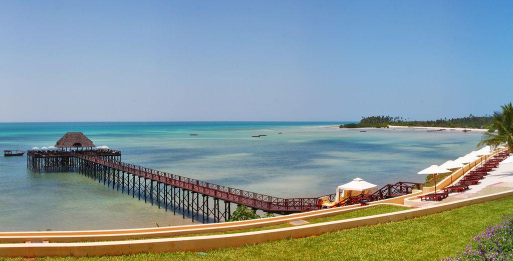 Admirez l'océan Indien à perte de vue
