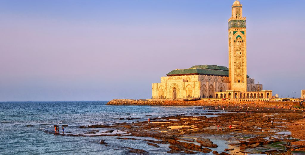 Tout en poursuivant vers Casablanca