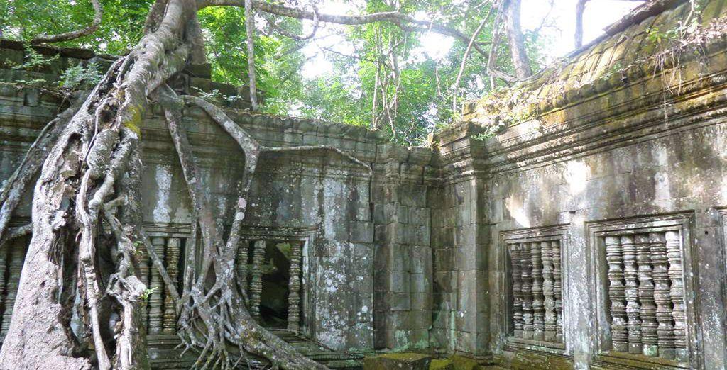 En passant par les temples de Beng Mealea et Ko Ker