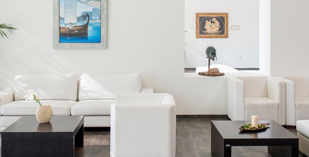 Investissez les agréables espaces communs