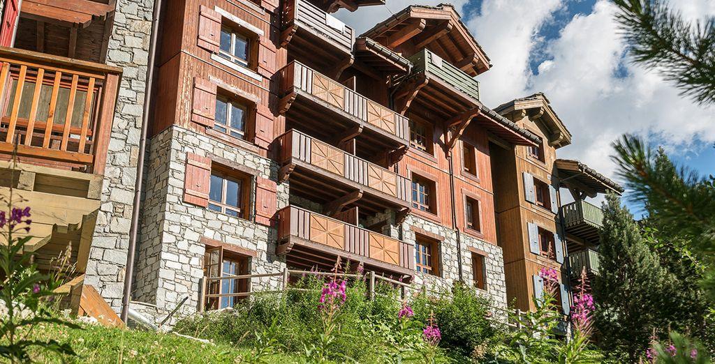 Rejoignez de vrais appartements au style montagnard