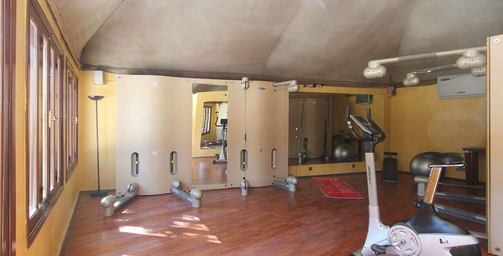 Et salle de fitness
