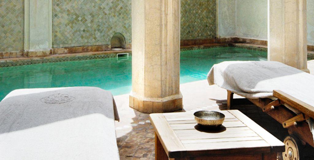 La piscine du riad - La Villa Nomade ***** Marrakech
