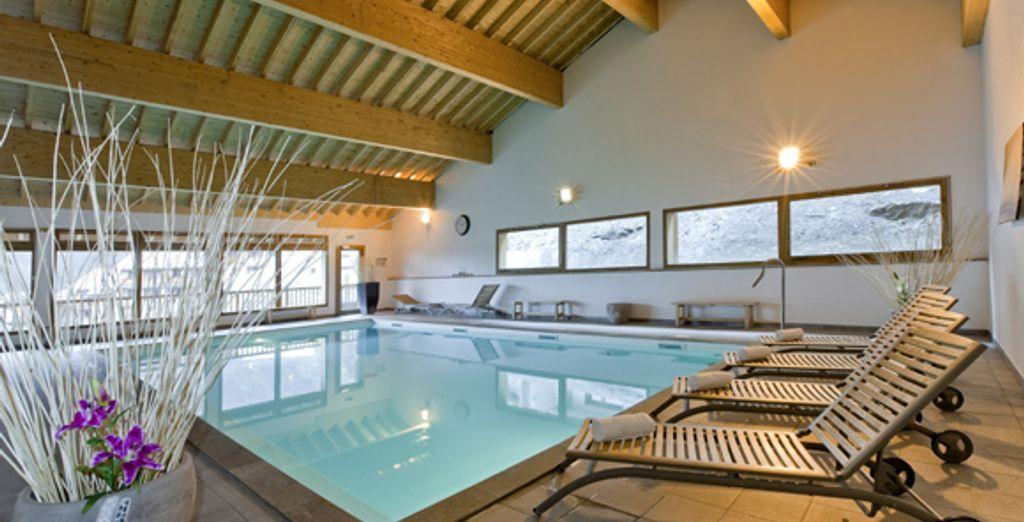 La piscine - Résidence Le Hameau des Eaux d'Orelle Orelle
