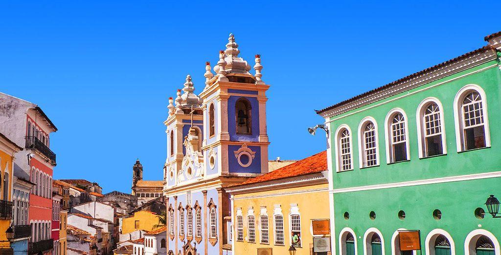 Direction la belle Salvador de Bahia
