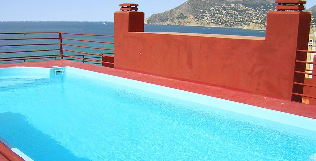Alternez entre mer et piscine