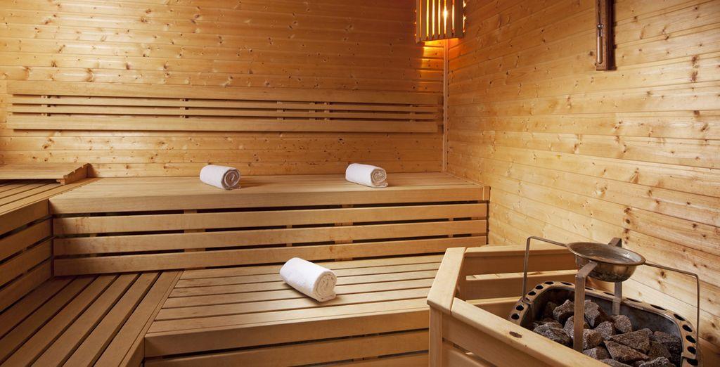 Ou dans le Sauna