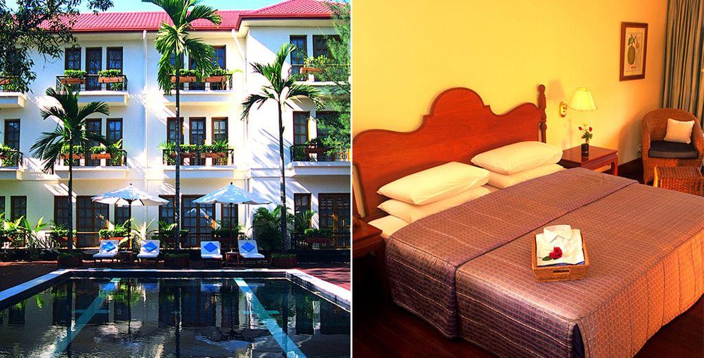 Profitez d'hôtels confortables