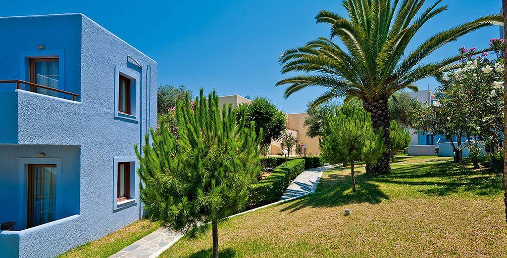 Construit, comme son nom l'indique, dans le style d'un village méditerranéen