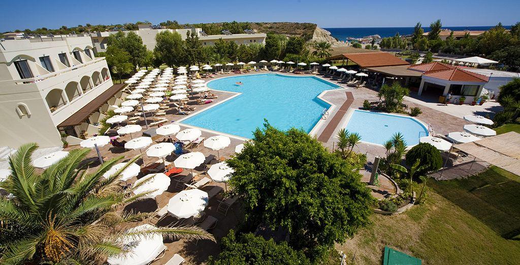 Le Mistral Hotel vous accueille en bord de mer - Mistral Hotel 4* Rhodes