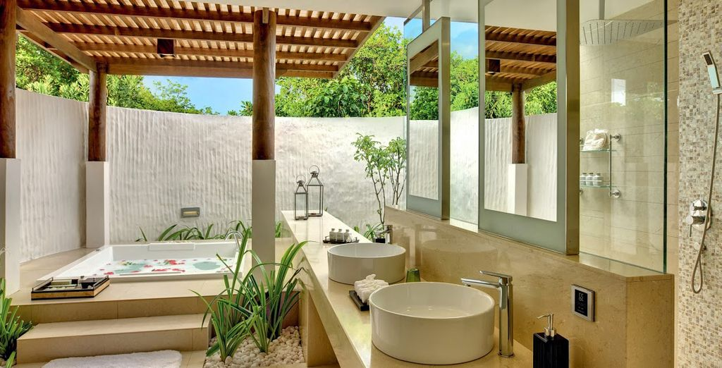 Son Spa et sa piscine privé ?