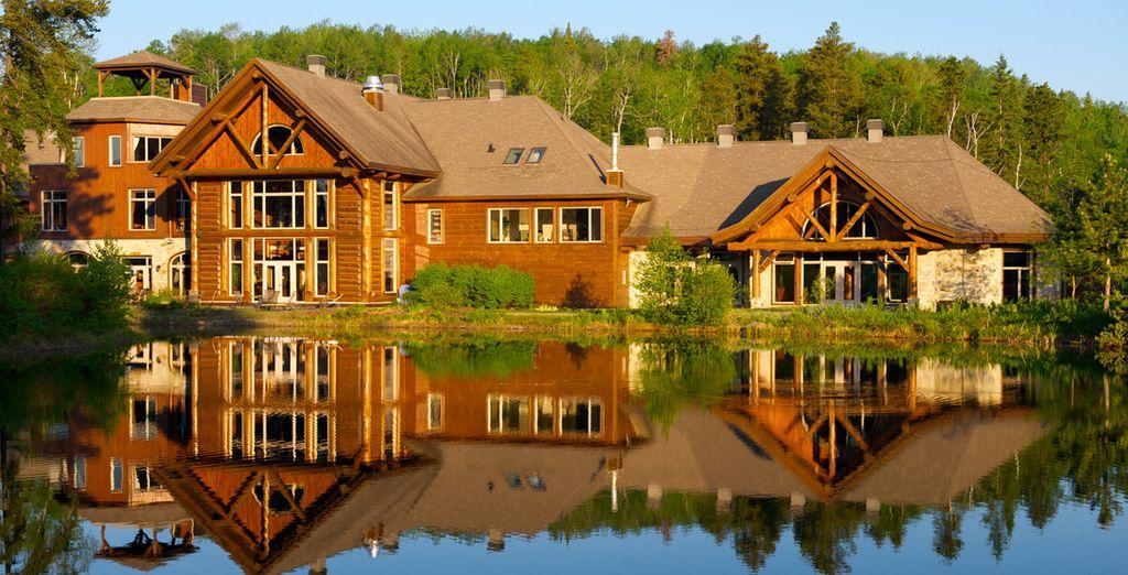 Aubarge du Lac Taureau au Canada, un hébergement haut de gamme en nature sélectionné par Voyage Privé
