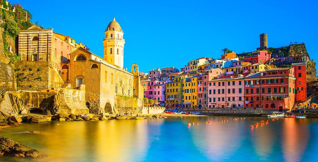 Bienvenue dans la région des cinq terres - Europa hôtel design Spa 1877 Rapallo