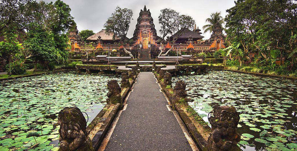 Ubud et ses environs regorgent de richesses historiques et culturelles...