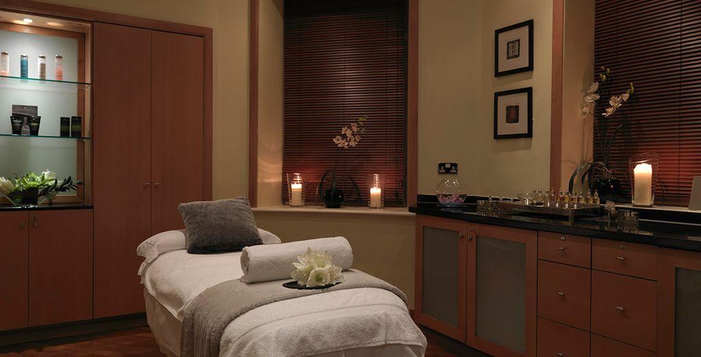 Entre vos visites ou vos rendez-vous, faites place à la détente au Spa by Anne Sémonin...
