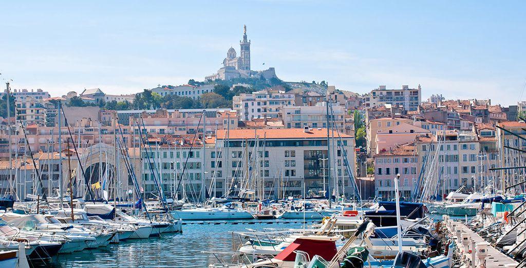 Ne manquez pas un détour par Marseille