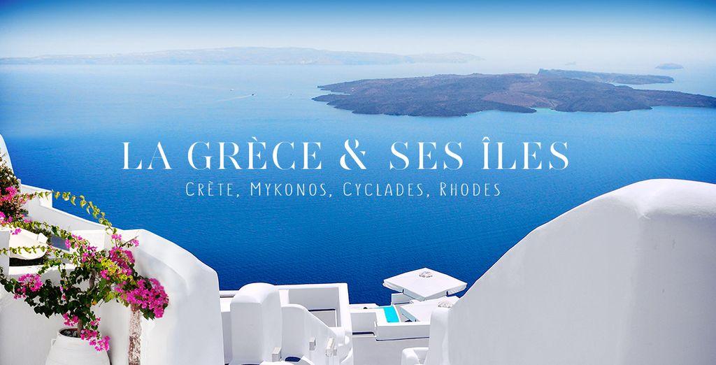 Réservez vite votre séjour en Grèce
