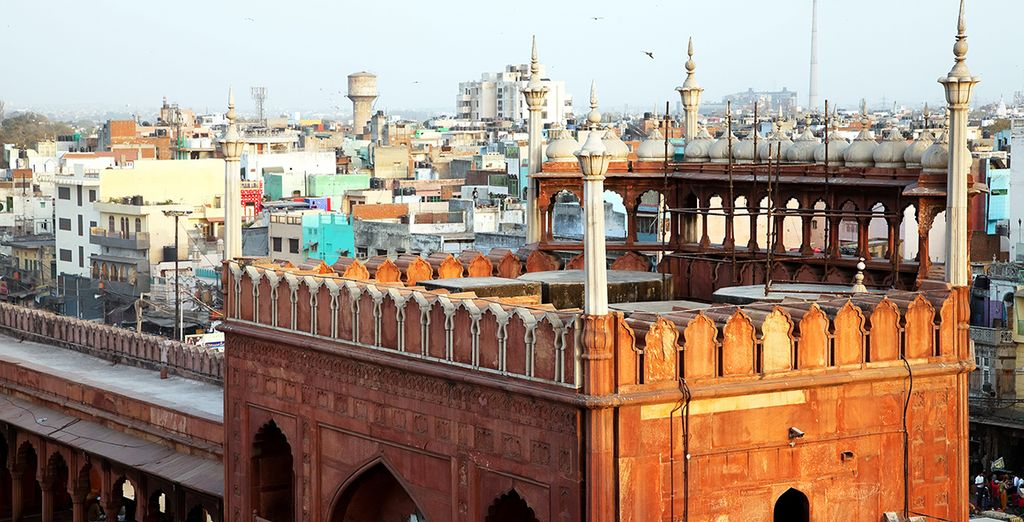 Première étape... New Delhi et Old Delhi....