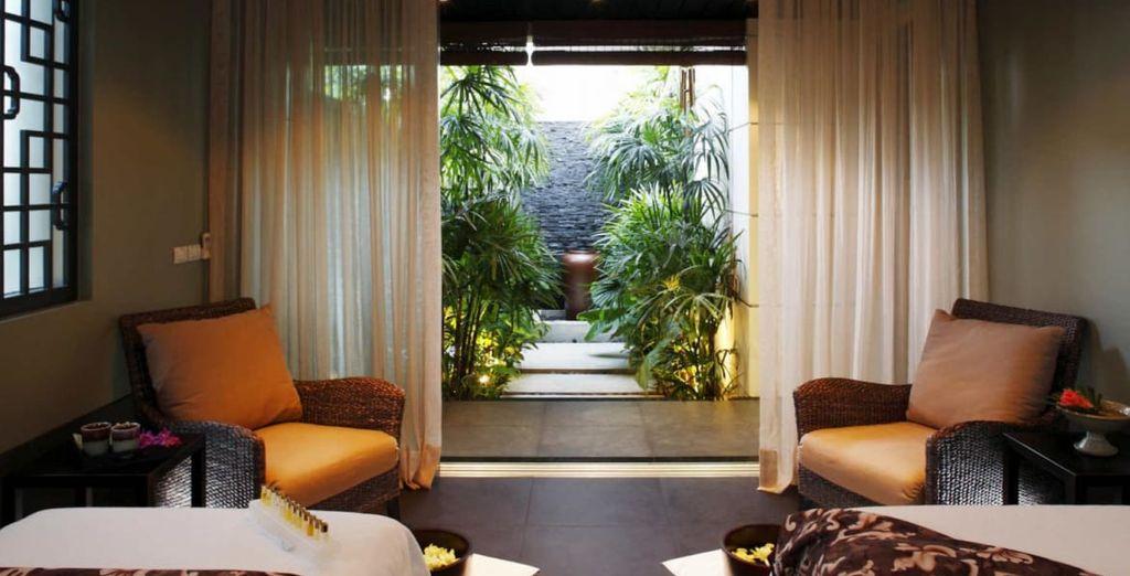 Un lieu zen où vous pourrez vous faire chouchouter à loisir