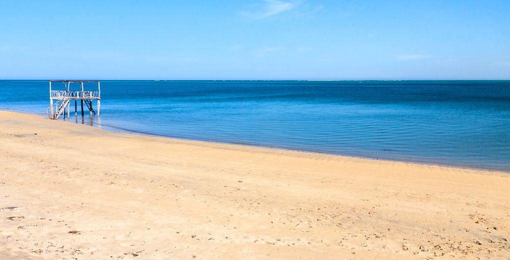 Photographie des belles plages d'Ifaty à Madagascar