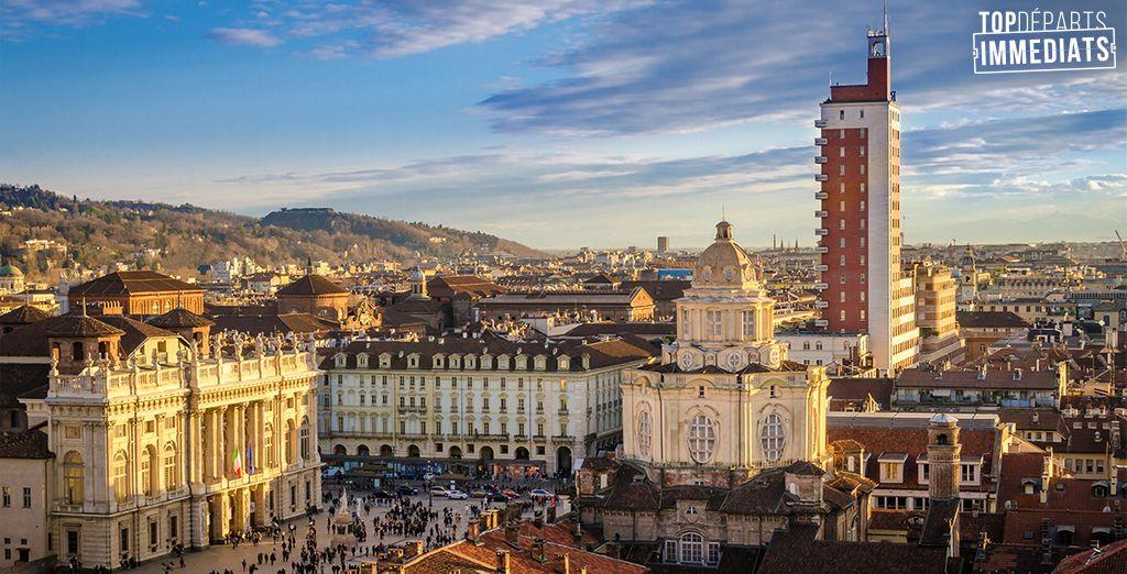 Bienvenue à Turin... - NH Lingotto 4* Turin