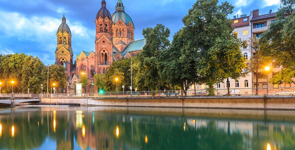 Kommen Sie und bewundern Sie die Schönheit Münchens.