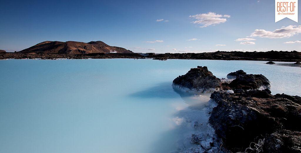 Admirez la beauté naturelle de l'Islande