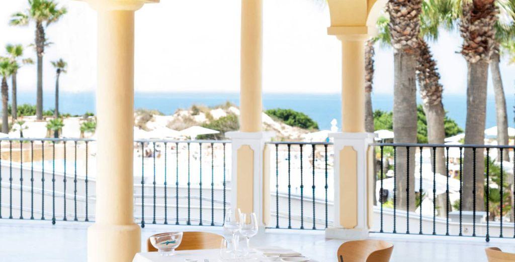 Parmi les trois restaurants de l'hôtel