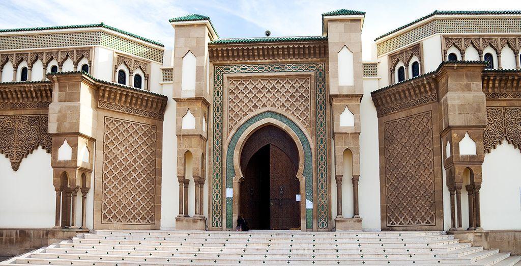 Et ses mosquées à l'architecture typique