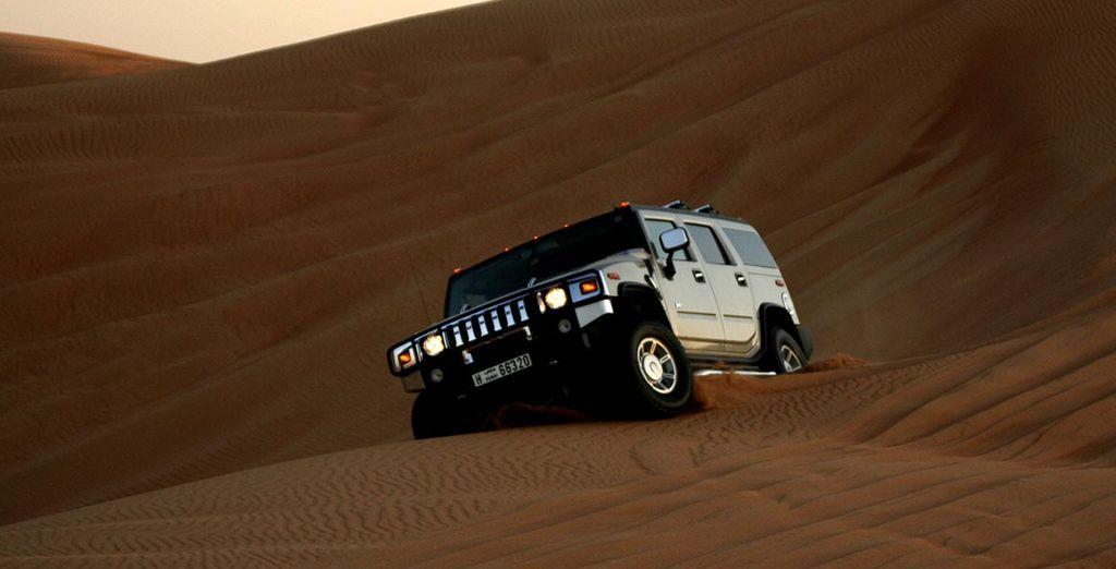 Au cœur du désert...