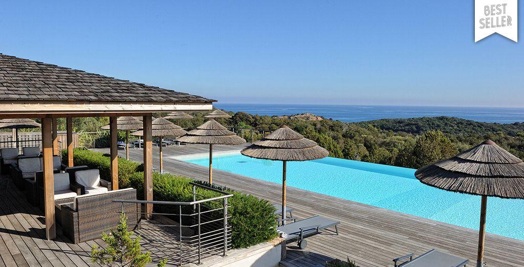 Et si ce cadre merveilleux était celui de vos prochaines vacances ? - Résidence Les Terrasses de Rondinara Bonifacio